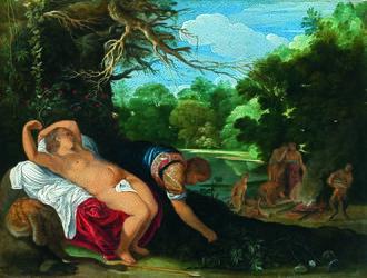 Agnes Etherington Art Centre - Image: Johann König Apollo und Coronis (Agnes Etherington Art Centre)