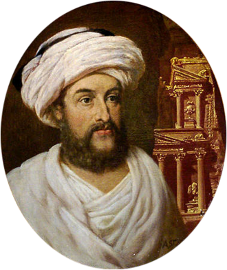 Johann Ludwig Burckhardt - Image: Johann Ludwig Burckhardt