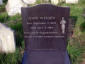 John Wisden - Image: John Wisden Brompton 01