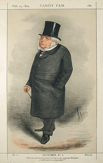 John Bright - John Bright, Vanity Fair, 1869