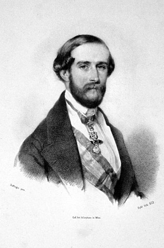 Juan, Count of Montizón - Image: John Charles Bourbon Litho