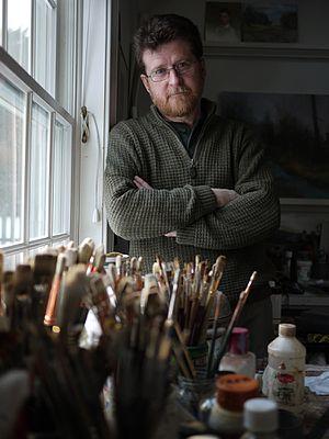 John Ennis (artist) - Ennis in 2010
