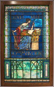 John La Farge - 'Untitled (Architecture)', c. 1903, glass, High Museum