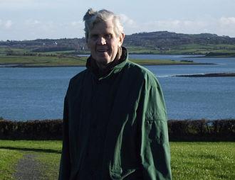 John Morrow (peace activist) - Rev. Dr. John Morrow in front of Strangford Lough