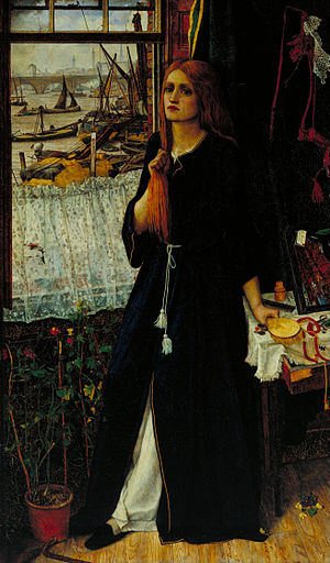 Thoughts of the Past - Image: John Roddam Spencer Stanhope Thoughts of the Past Google Art Project