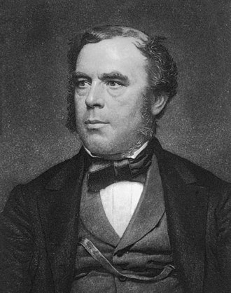 John William Draper - Portrait of John Draper engraved by John Sartain