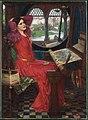 John William Waterhouse - I am half-sick of shadows, said the lady of shalottFXD.jpg