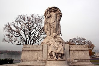 John Ericsson National Memorial - Image: John erricsson memorial front