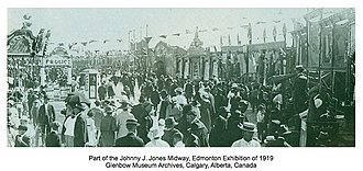 Johnny J. Jones - Image: Johnny J. Jones Exposition, Edmonton Exhibition of 1919
