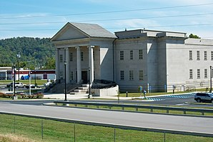 Johnson County Judicial Center in Paintsville