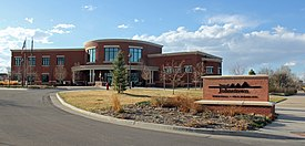 Johnstown, Colorado Town Hall.JPG
