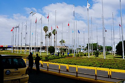 How to get to Jomo Kenyatta International Airport with public transit - About the place