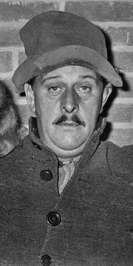 Acteur Joop Doderer als Swiebertje in Oisterwijk ca 1968
