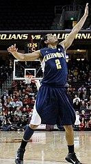 Gutiérrez w barwach California Golden Bears