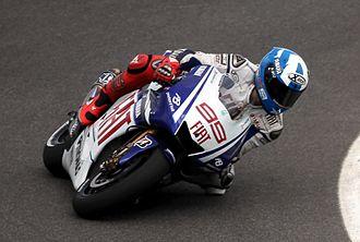 Jorge Lorenzo - Lorenzo at the 2009 Indianapolis Grand Prix.