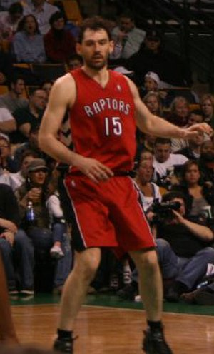 Jorge Garbajosa - Garbajosa in his first season with the Toronto Raptors