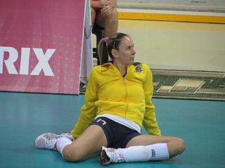 Fabíola de Souza Brazilian volleyball player
