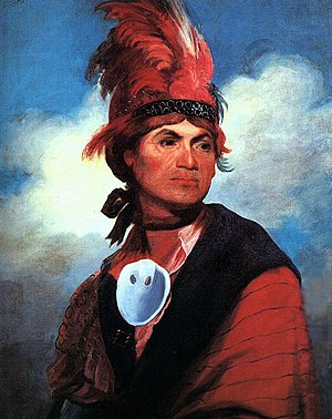 Mohawk people - Image: Joseph Brant by Gilbert Stuart, 1786