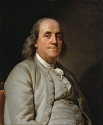 Дюплесси, Жозеф: Benjamin Franklin
