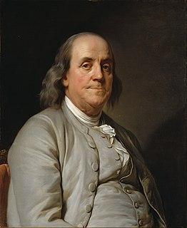Benjamin Franklin American polymath and a Founding Father of the United States