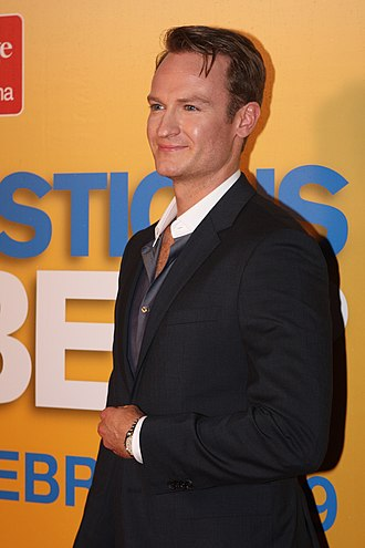 Josh Lawson - Lawson at the Sydney premiere of Any Questions for Ben? in February 2012