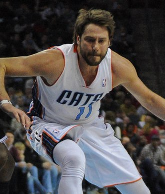 Josh McRoberts - McRoberts with the Bobcats in 2013