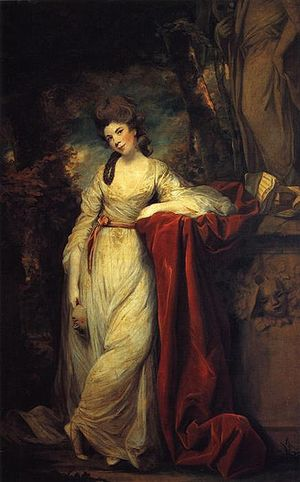 Frances Abington - Portrait by Joshua Reynolds