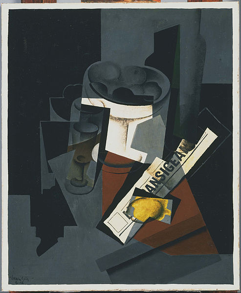 File:Juan Gris - Still Life with Newspaper - Google Art Project.jpg