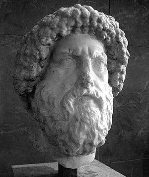 Juba I of Numidia - Juba I's bust