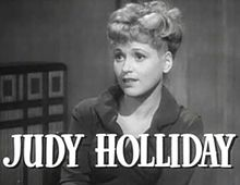 Judy Holliday a Adam's Rib (1949)