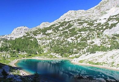 Julian Alps Alpine Lake 2013-08-18.jpg