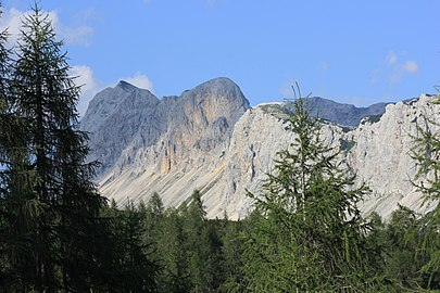 Julian Alps high mountain summits and ridges and natural forests 2013-08-17.jpg