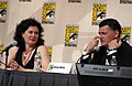 Julie Gardner and Steven Moffat at Comic Con 2008.jpg