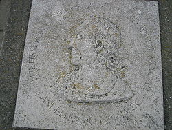 Photo of Julius Caesar grey plaque