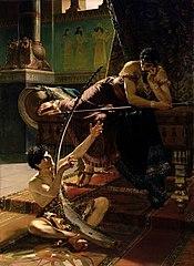 Julius Kronberg David och Saul 1885