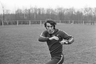 Qui studio a voi stadio - Pietro Anastasi in 1971 when he was a football player
