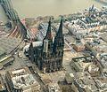 Köln Dom Altstadt Luftbild - cologne aerial (25056740580) (cropped).jpg