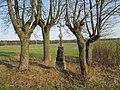 Kříž u rybníka východně od Veselé (Q66056953) 02.jpg