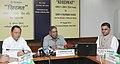 """K. Rahman Khan addressing at the launch of the Ministry's helpline """"Khidmat"""", in New Delhi. The Minister of State for Minority Affairs, Shri Ninong Ering and the Secretary, Ministry of Minority Affairs.jpg"""