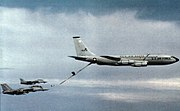 KC-135E Ohio ANG refueling VF-74 F-14As 1984