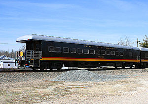 Kansas City Southern Railway Observation car &...