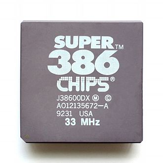 Chips and Technologies - x86-CPU Super386.