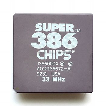 English: Chips & Technologies Super 386