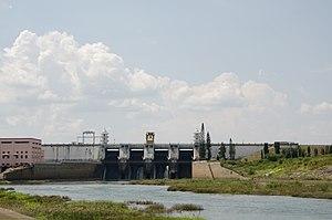 Kabini River - Image: Kabini reservoir