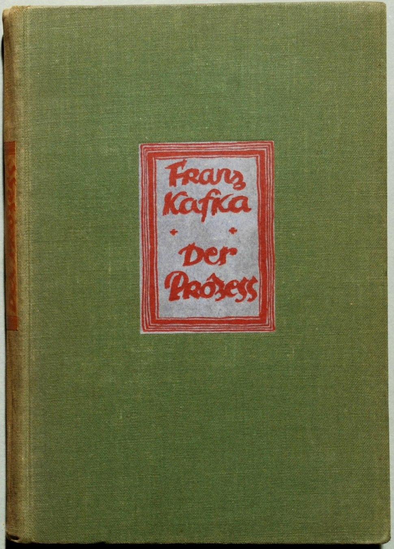 Kafka Der Prozess 1925