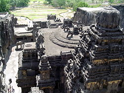 Kailasha temple at ellora