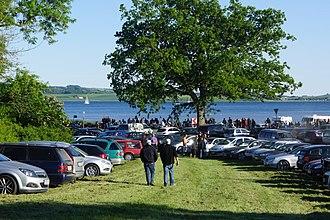 Kalø Vintage Car Rally - Image: Kalø Veteranbiltræf 1
