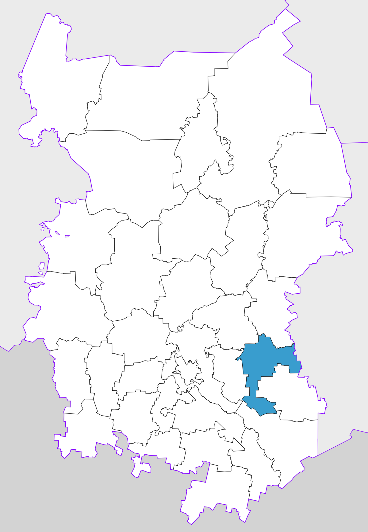 What is the federal district of Omsk, and where is it located 50