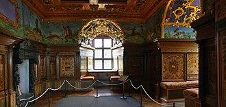1553 in Sweden - Kalmar slott.kungsgemaket
