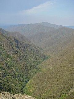 Kanangra Creek river in Australia
